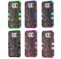 Realtree case - 3 in Straw Samsung galaxy s6 s6 edge phone case realtree camo case IMD Grass Mossy Camo Tree hybrid plastic soft silicone case