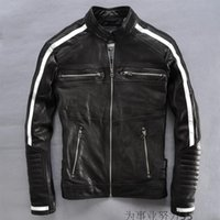 leather motorcycle apparel - Shell genuine leather jackets Motorcycle Apparel affliction motocycle jackets sheepskin leather jackets