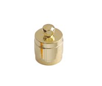 Other Alloy Chirstmas 50PCS Jewelry Findings Brass Cord End Caps for 7mm leather