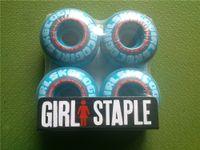 skateboard wheels - 2015 Skateboard Parts Skate Board Professional Wheels Girl Skating Wheels PU Skateboard Wheels mm