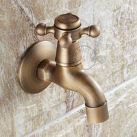 Wholesale B R Antique washing machine tap surface treatment bronze colour small and durable GZ