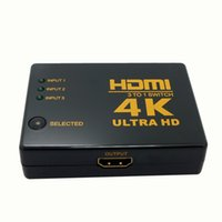 Wholesale 4K K D Mini Port HDMI Switch K Switcher HDMI Splitter in out Port Hub for DVD HDTV Xbox PS3 PS4 P