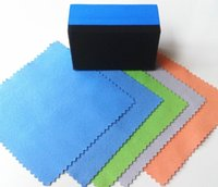Wholesale Glass coating application cloth crystal coating agent cloth glass coat microfiber cloth nano car suede cloth
