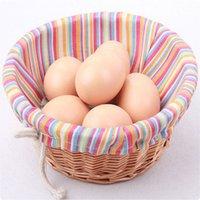 Wholesale Hot Sale Faux Fake Simulation Eggs Food Dummy Kitchen Party Wedding Home Decoration