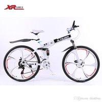 Wholesale Folding bicycles Aluminum alloy full suspension mountain bike bicycle Mens unisex children Altruism xirui X9 speed inch