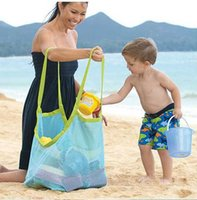 Wholesale 50pcs Children Beach sandy toy collecting bags Toys Clothes Towel outdoor shoulder Bags