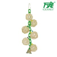 Wholesale New Year Handcrafts Pet Toys bird toys include bird swings bird ladders and other or retail bird toys Pet toys102
