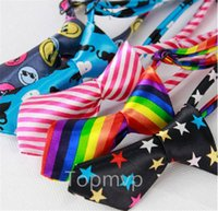 Wholesale 50pcs New Fashion Polyester Silk Pet Dog Necktie Adjustable Handsome Bow Tie Necktie Grooming Supplies E003