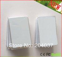 Wholesale 100PCS Printable PVC Blank White Card No chip For Epson Canon Inkjet Printer Suitbale Portrait Member POS System