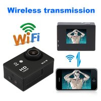 Wholesale 2015 New Y8 M Waterproof WiFi P HD inch Screen H264 Mp Video DV Sports Wireless Camera140 Degree Wide Angle Lens DV