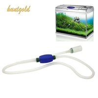 aquarium gravel - Aquarium Fish Tank Gravel Water Filter Cleaner Syphon Siphon Manual Vacuum Pump
