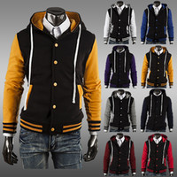 baseball trade - Fall NEW Classic Hoodie Baseball Jacket man coat eight color AC cardigan foreign trade