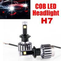 Wholesale 2pcs H7 LED Headlight Bulbs H7 LED Headlight Bulb Light H7 LED Bulb Headlight h7 LED CREE All In One Fog Light LED Headlamp