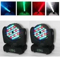 4pcs / lot LIBÈRENT la lumière d'étape 4in1 RGBW 36 * 3W LED de LED d'étape d'étape de LED Lumière de lavage de faisceau légère principale de lumière de la lumière DJ DMX INOUT