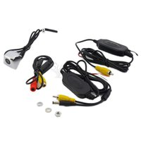 Wholesale 1set Wireless Car Rear View CCD degree Night Camera Reverse Backup Parking Camera HOT Sale