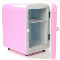 Wholesale He car mini refrigerator car home refrigerator dual purpose multi purpose mini car gift YD