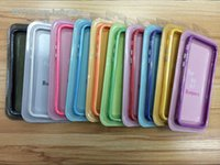 Cheap 2014 New arrival TPU Gel Soft Silicon Rubber Case Frame Metal with Mid Clear Two Tone Cover for iphone 6 4.7 inch
