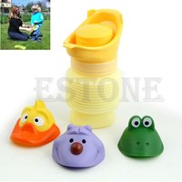 Wholesale 2014 New pc ML Portable Urinal Car Travel Toilet Kid Unisex Potty Training Pee Camping