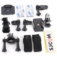 Wholesale SJCAM Action Camera Accessories with Holder Base Band Double side Tape for SJCAM SJ4000 SJ5000 SJ5000 Plus SJ6000 Sports Camera