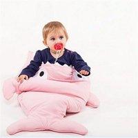 Wholesale 2016 Christmas Gift Colors Shark Baby Sleeping Bag Newborn Infant Children Blanket Swaddle Baby Sleep Sack