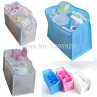 wall dividers - Baby Kids Portable Diaper Nappy Water Bottle Changing Divider Storage Organizer Bag New S M L A5