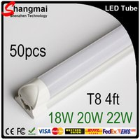 bulbs and lighting - Cheap And Fine X50 M MM FT T8 Led Integrated Tube Light Bulbs Frosted Clear Cover W W W SMD2835 Led Fluorescent Lamp CE RoHS