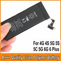Wholesale Best Quality Built in Internal Li ion Replacement Battery For iphone S S C G mah mah mah mah mah Tested OM CA7