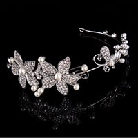 beautiful hair bands - 2015 HB0008 New Arrival Fashionable Popular Beautiful Lace Flowers Bridal Hair Accessories Hair Bands Headband