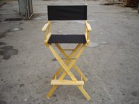 Wholesale Makeup chair director chair artist actor chair folding solid wood chair portable