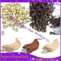 Wholesale Silicone Micro Ring Loop Link Beads Silicone Beads Feather Hair Extension Tools Silicone Micro Beads