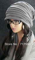 Wholesale UNISEX Chic Baggy Oversized BEANIE Slouchy Cap Hat Winter Knitted