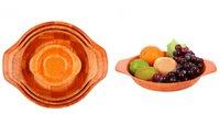 bamboo salad bowl set - Kitchen room supplies salad bowl sets Bamboo bowl wood plates creative woven bamboo bowl dinnerware sets