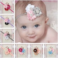 baby portrait photos - When a hot season with the new baby baby hair band Europe children s hair photo portrait lovely girls Korea Flower Hair Barrette