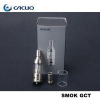 authorized electronics - 100 Original Authorized Smok GCT Tank Atomizer Electronic Cigarettes Atomizer SMOK Gimlet Cloud Tank Atomizer Temp Control Atomizer
