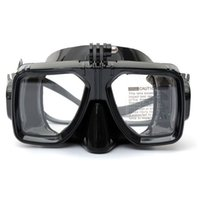 Wholesale Hot Sale Tempered Glass Mask Gopro Dive Scuba Diving Mask Adult Diving And Snorkeling Equipment Swimming Glasses DF268A
