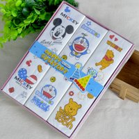 Wholesale 12packs Nice Cartoon Napkins Paper Serviettes Facial Printed Pocket Tissues Paper Children Outdoor Play Party napkins facial tissue