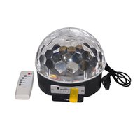 Wholesale Disco DJ Stage Lighting Digital LED RGB Crystal Magic Ball Effect Light for Xmas Party and New year Party