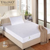 Wholesale YALOVO Mattress Pad Summer style Mattress Cover Tyvek material Anti bacteria And Mite proof Water proof Comfortable Sheet