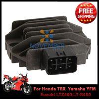 Wholesale New Arrival Motorbike Regulator Rectifier Motorcycle Bike Voltage Rectifier for Suzuki LTZ400 LT R450 Yamaha YFM450 order lt no