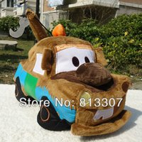 Wholesale New Pixar Cars Tow Mater Truck Plush Doll Soft Toy quot and Retail