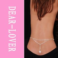 adjustable lowering links - Sexy Adjustable Butterfly Belly Chain and Lower Back LC0638 accessories dear lover women jewelry waist chain FG1511