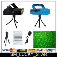 Green auto sales leads - Holiday Sale Blue Mini Laser Stage Lighting mW Mini Green Red LED Laser DJ Party Stage Light Black Disco Dance Floor Lights