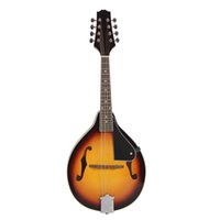 Wholesale 8 String Basswood Mandolin with Rosewood Adjustable Bridge Classical Musical Instrument Top Quality order lt no track