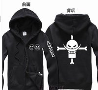 aces music - New Anime One Piece Clothing Fire Fist Ace Hooded Sweatshirt Cosplay Hoodie Costumes