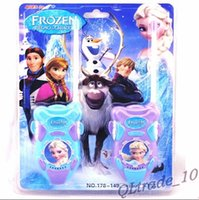 Wholesale 2014 New Frozen Toy Walkie Talkies Frozen Intercorn Children Interphone Children frozen walkie talkies Interphone set DDD695 sets