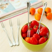 Wholesale Hot Selling Stainless Steel Fruit Fork West Tableware portable