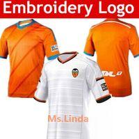 2014 Camisetas de Fútbol 2015 Valencia FC Fútbol Jersey Camisetas barato Nuevo 2015 camiseta de fútbol Camiseta Tailandia Calidad