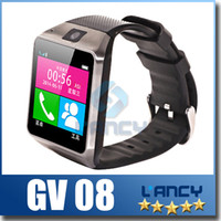 German anti support - 2015 New Smart Bluetooth Watch GV08 for Android Smart Phone Wrist Watches With MP Camera Support SIM Card GB TF Card Anti lost