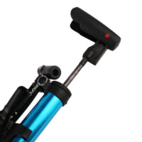 aluminum hand pump - Portable Aluminum Bike Bicycle Ball Tire Hand Air Pump High Pressure Inflator Blue M9532 Inflatable Pump