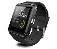 Wholesale FreeShipping Smart Watch Wrist Watch U8 U Watch for all Android Phone touch screen connect all mobile phone